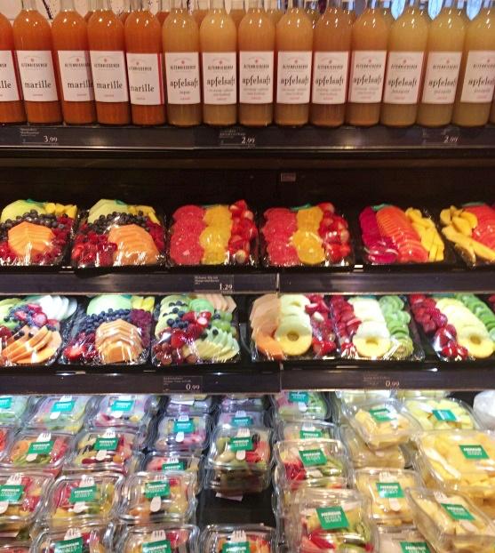 MERKUR Fruit section