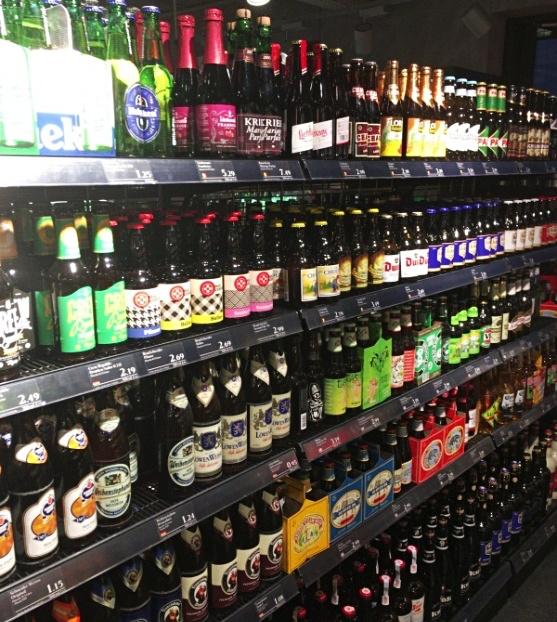 MERKUR alcohol section